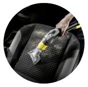 čištění interiérů aut