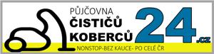 Logo půjčovna čističů koberců